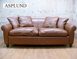 【ASPLUND】アスプルンド 総本革 3P ギルソファ 出張買取 東京都目黒区